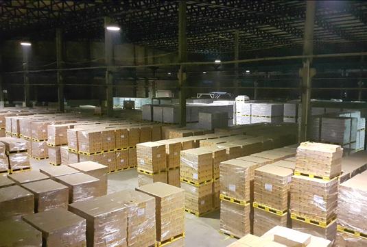 747 Warehouse Light